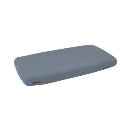 Slika za Little Dutch®  Dječja elastična plahta Pure Blue 70x140/150