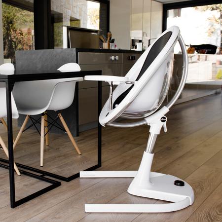 Slika za Mima®  Visoka stolica za hranjenje Moon™ White