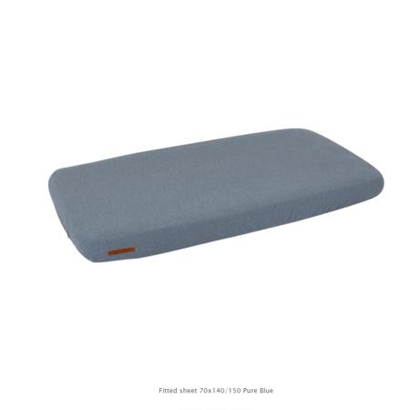 Slika za Little Dutch®  Dječja elastična plahta Pure Blue 60x120