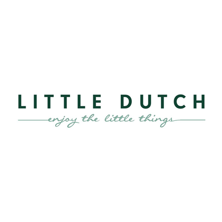Little Dutch® Ručnik s kapuljačom Wild Flowers Rust