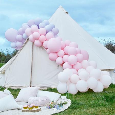 Slika za  Ginger Ray® Luk od balona Luxe Pastel Pink & Purple