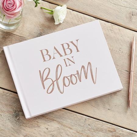 Slika za Ginger Ray® Knjiga uspomena za goste Baby in Bloom