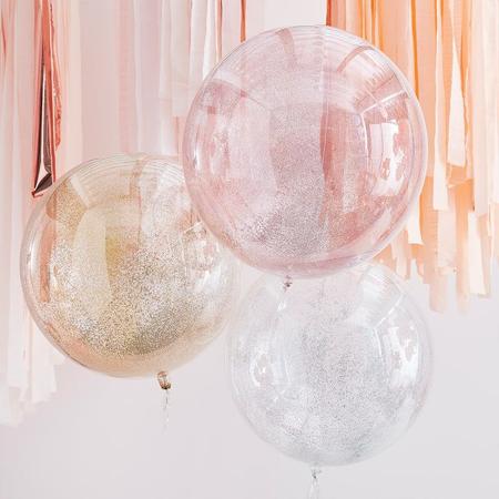 Slika za Ginger Ray® Baloni Mix It Up Metallic Glitter Orbs