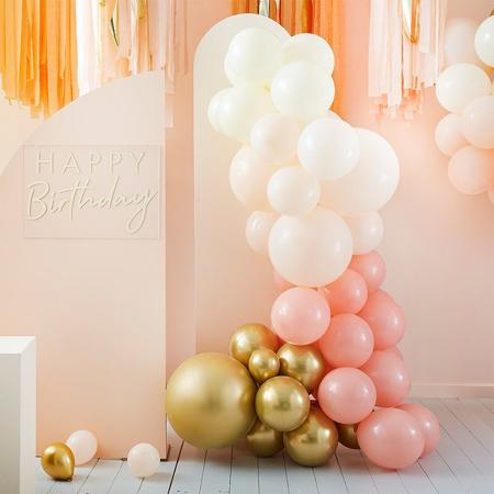 Slika za Ginger Ray® Luk od balona Mix It Up Peach Gold