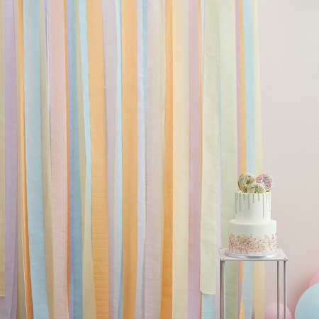 Slika za Ginger Ray® Trakovi za pozadinu Mix It Up Pastel