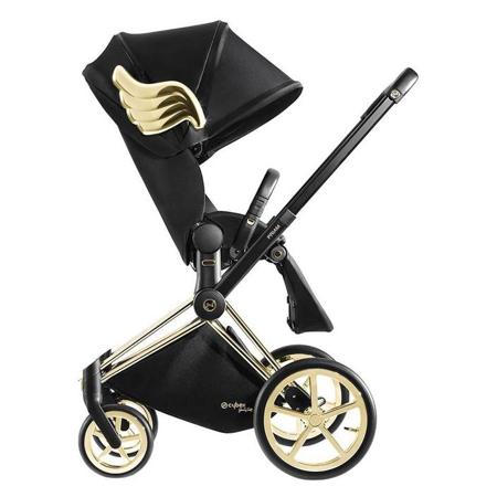Cybex® Dječja kolica Priam JS RBAS Wings Black (9-22 kg)