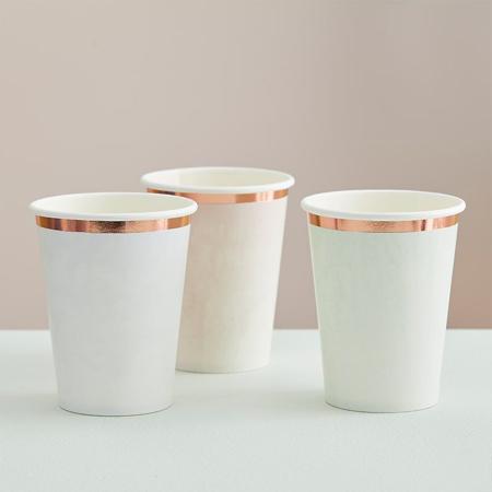 Slika za Ginger Ray® Papirnate čašice Pastel Watercolour 8 komada