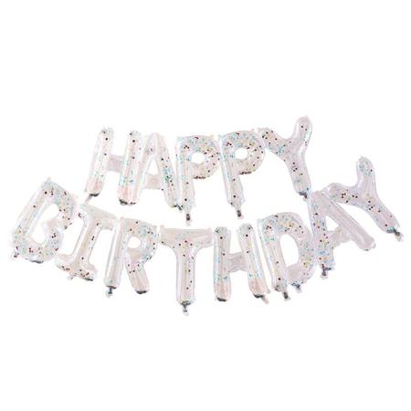 Ginger Ray® Viseći natpis  Happy Birthday Mix It Up Rainbow