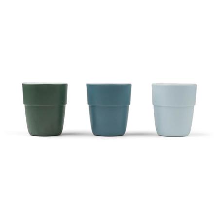 Slika za Done by Deer® Komplet 3 čašice Yummy Mini Blue