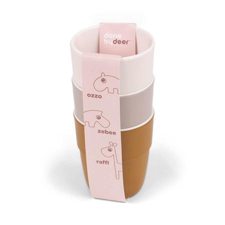 Slika za Done by Deer® Komplet 3 čašice Yummy Mini Powder