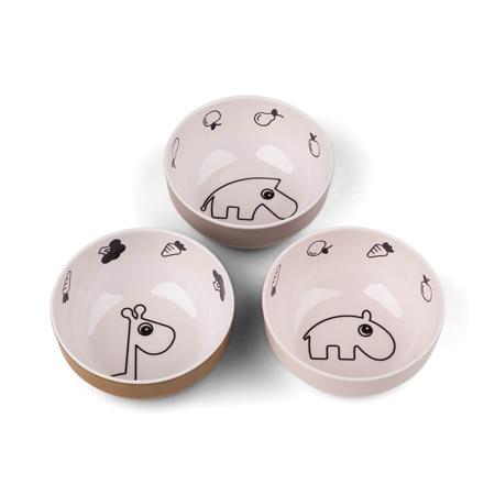 Slika za Done by Deer® Komplet 3 zdjelice Yummy Mini Powder