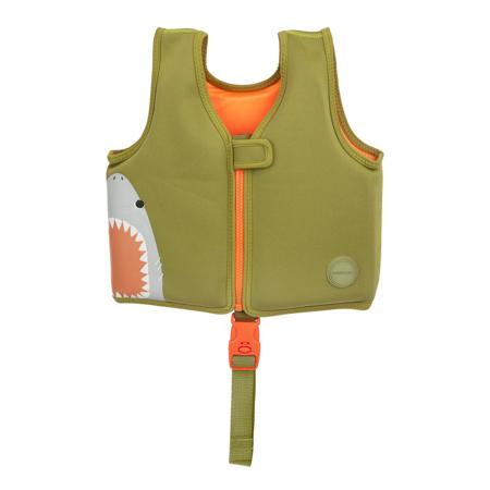 Slika za SunnyLife® Prsluk za učenje plivanja Shark 1-2L