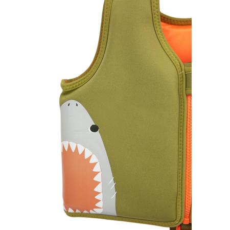 SunnyLife® Prsluk za učenje plivanja Shark 1-2L