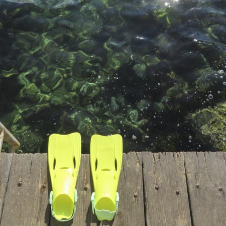 Slika za SunnyLife® Set za ronjenje Neon Lime (35-38)