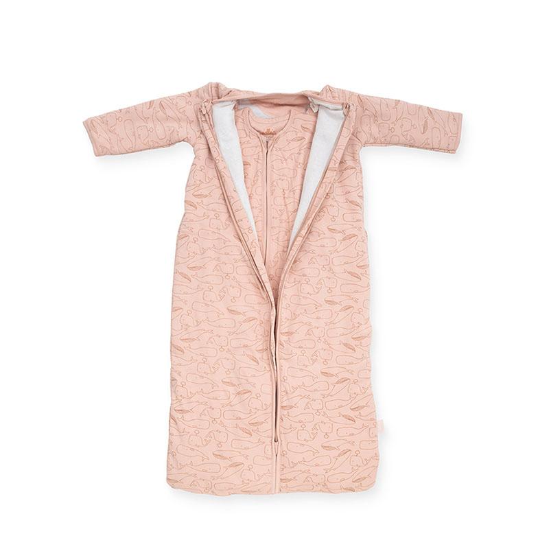 Slika za Jollein® Dječja vreća za spavanje za sva ljetna doba 110 cm Whales Pale Pink