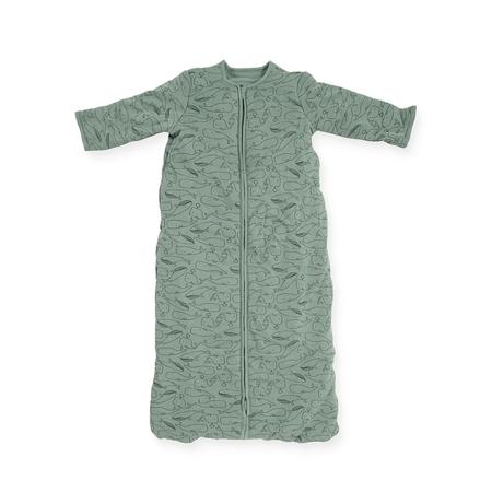 Dječja vreća za spavanje za sva ljetna doba 110 cm Whales Ash Green