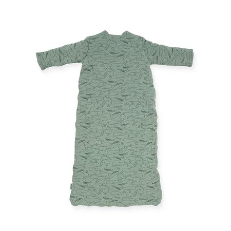 Slika za Dječja vreća za spavanje za sva ljetna doba 110 cm Whales Ash Green