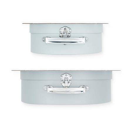 Slika za Jollein® Komplet dva kofera Shell Grey