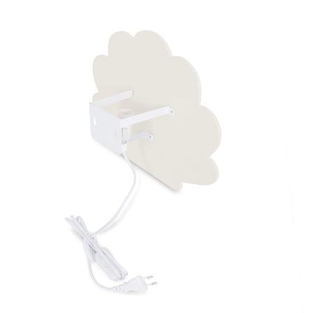 Jollein® Lampa za zid Školjka Nougat