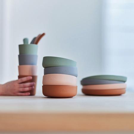 Slika za Jollein® Silikonski set za jelo Pale Pink