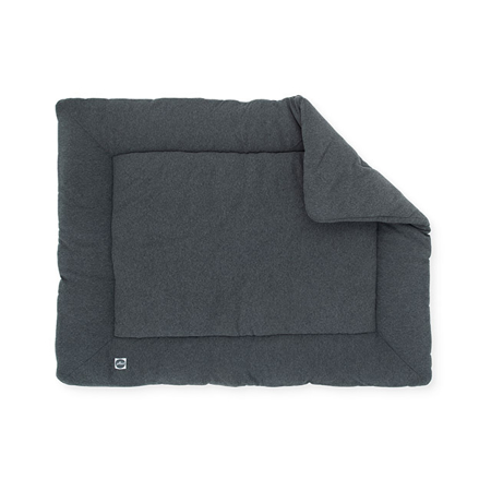 Jollein® Podloga za igru Jersey Melee 100x80 Dark Grey