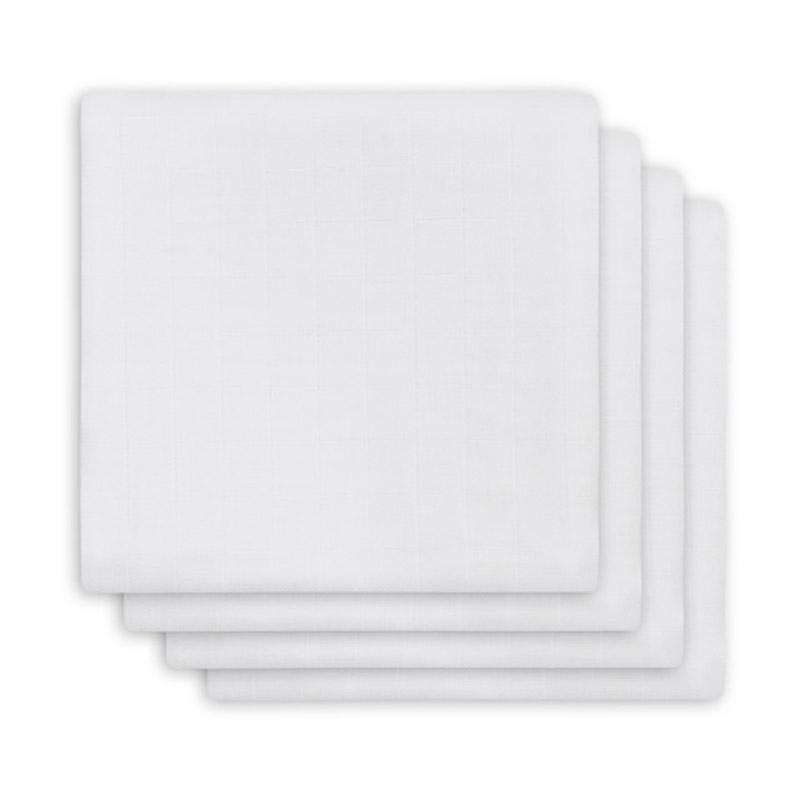 Slika za Jollein® Komplet 4 tetra pelene White 70x70