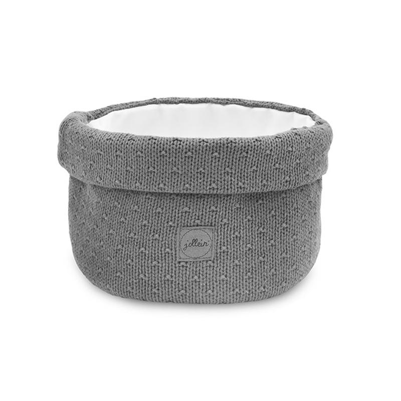Slika za Jollein® Košara za pohranjivanje stvarčica Bliss Knit Storm Grey