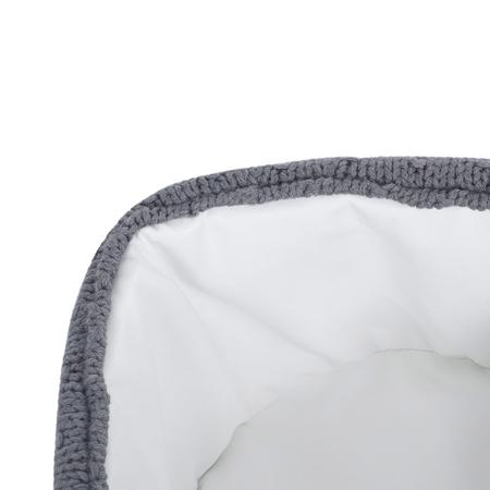 Jollein® Košara za pohranjivanje stvarčica Bliss Knit Storm Grey