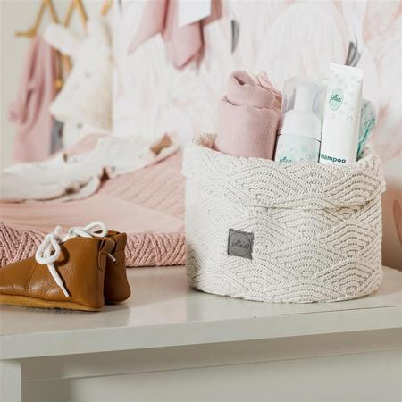 Slika za Jollein® Košara za pohranjivanje stvarčica Bliss Knit Caramel