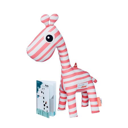 Slika za Done by Deer® Žirafa Raffi s knjigicom - Svijetlo ružičasta