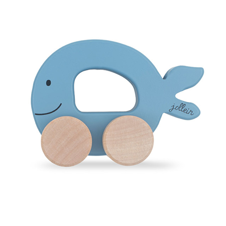 Slika za Jollein® Drvena igračka Car Fish Blue