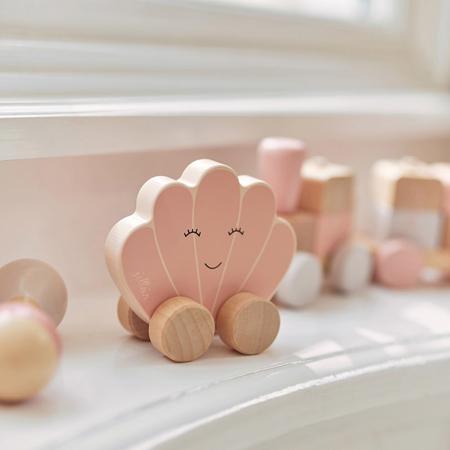 Slika za Jollein® Drvena igračka Car Shell Pink