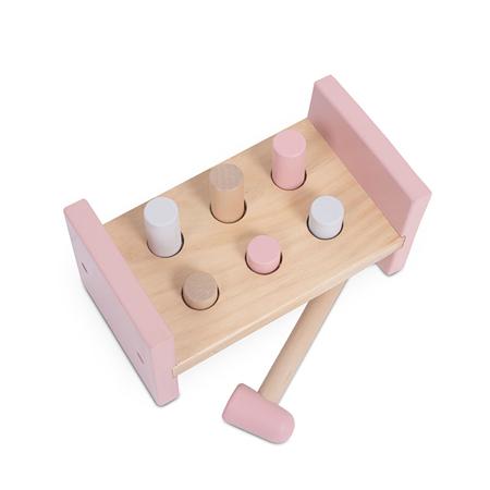 Slika za Jollein® Drvena igračka Čekić Pink