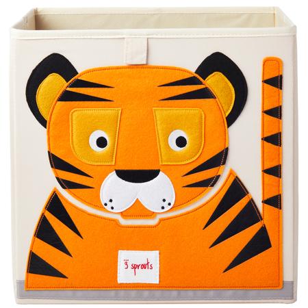 Slika za 3Sprouts® Kutija za igračke Tigar
