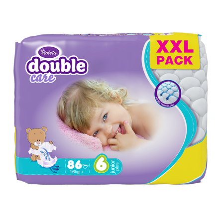 Slika za Violeta® Pelene Air Dry XXL 6 Junior+ (16 kg+) 86/1