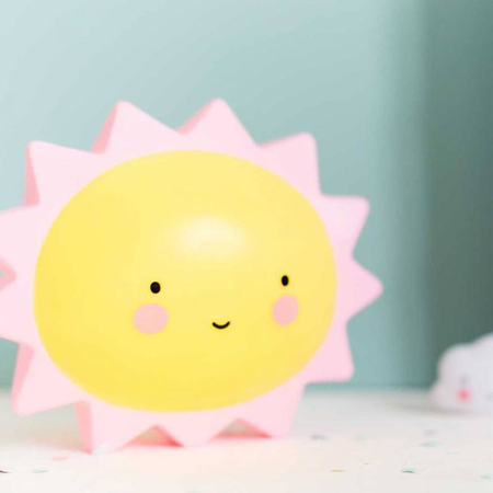 A Little Lovely Company® Mini lampica Sun