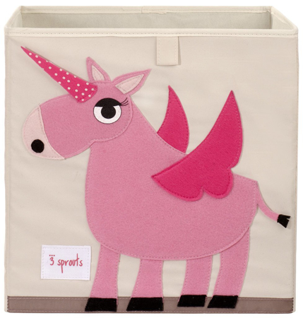 Slika za 3Sprouts® Kutija za igračke Unicorn