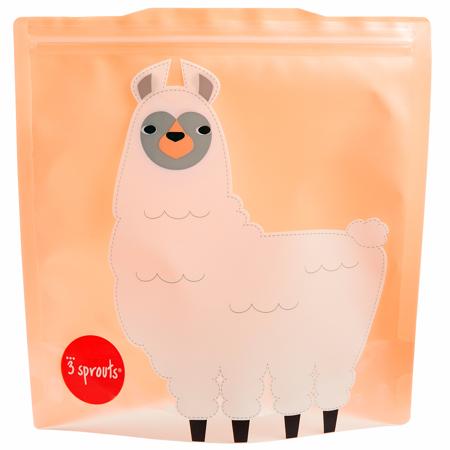 Slika za 3Sprouts® Vrećice za užinu i grickalice Lama