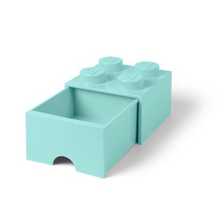 Slika za Lego® Kutija s ladicom za pohranjivanje 4 Aqua