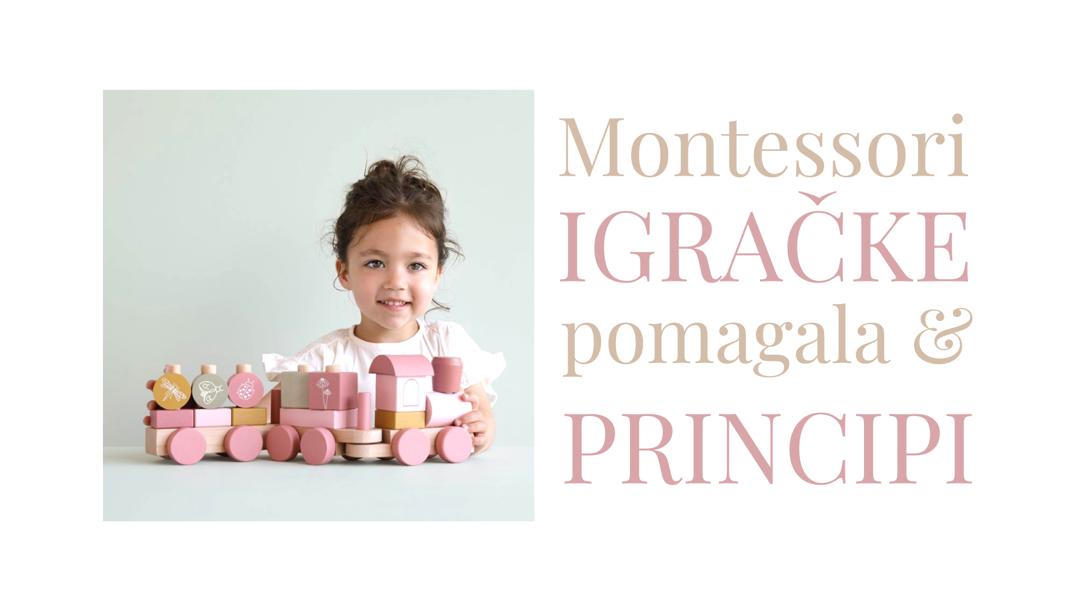 Montessori igračke, pomagala i principi