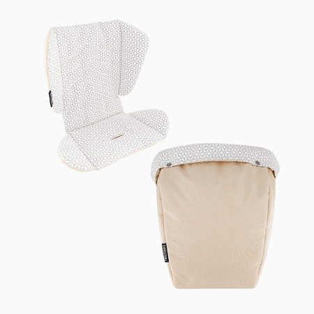 Slika za  Twistshake® Podloga za kolica i vreća za noge Beige