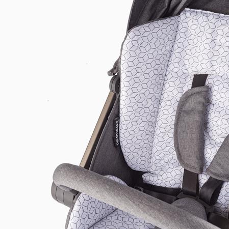 Twistshake® Podloga za kolica i vreća za noge Grey