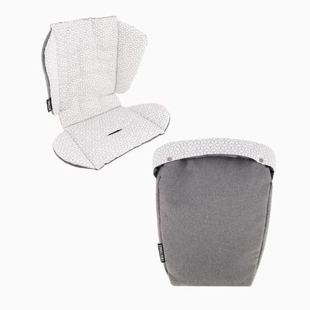 Slika za  Twistshake® Podloga za kolica i vreća za noge Grey