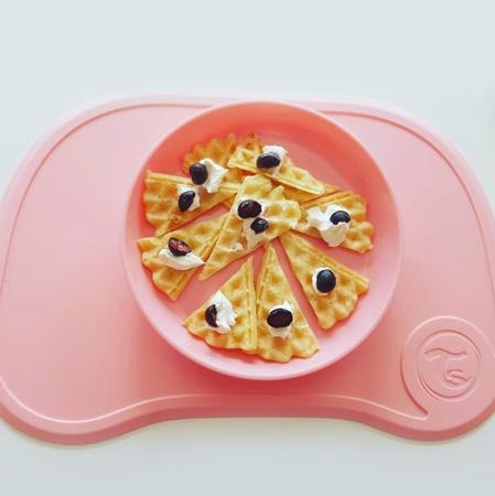 Slika za  Twistshake® Podloga s tanjuričem Click Mini Pastel Pink