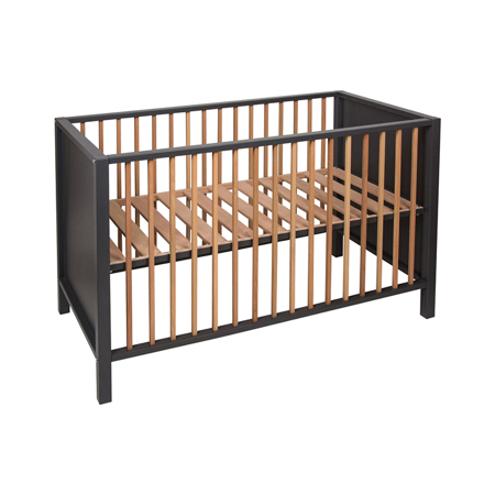 Quax® Dječji krevetić Nordic 120x60 Moon Shadow / Natural