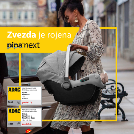 Slika za  Nuna® Dječja autosjedalica Pipa™ Next i-Size 0+ (0-13 kg) Caviar