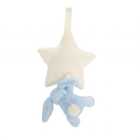 Slika za Jellycat® Glazbena igračka Bashful Blue Bunny 28cm