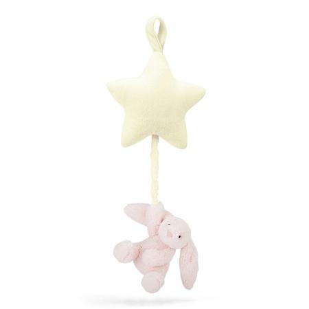 Slika za Jellycat® Glazbena igračka Bashful Pink Bunny 28cm