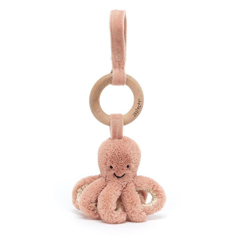 Slika za Jellycat® Didaktička plišana igračka Odell Octopus 21x5