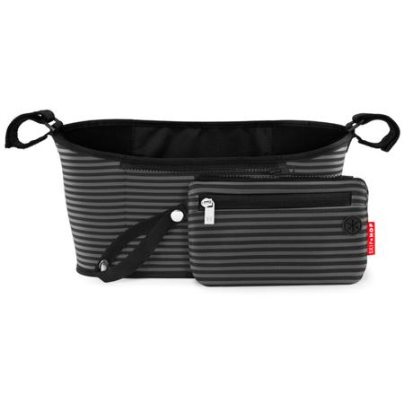 Slika za Skip Hop® Organizator za kolica Black & Grey Stripe